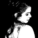 Mais uma da Lívia em preto e branco